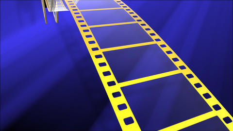 Film Strip A05a Stock Video Footage