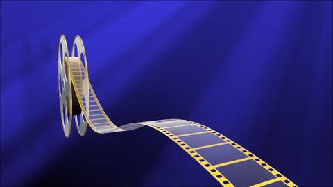 Film Strip A05a Stock Video Footage