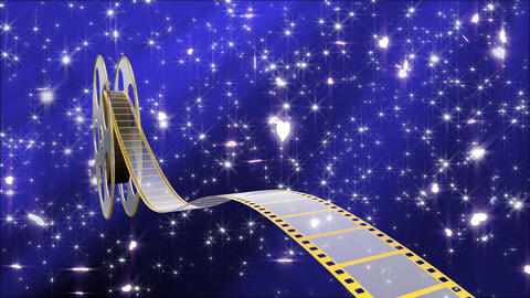 Film Strip A05c Stock Video Footage