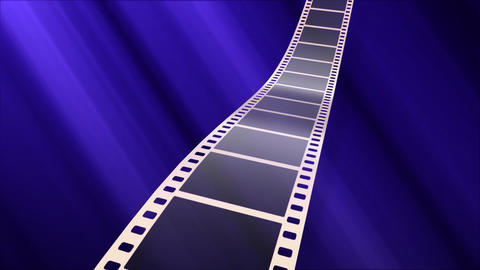 Film Strip A07a Stock Video Footage