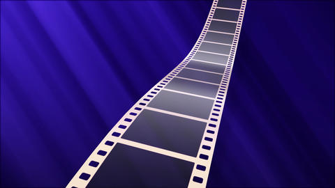 Film Strip A07a Stock Video Footage