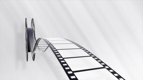 Film Strip A04b Stock Video Footage