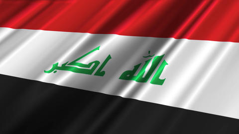 IraqFlagLoop02 Animation