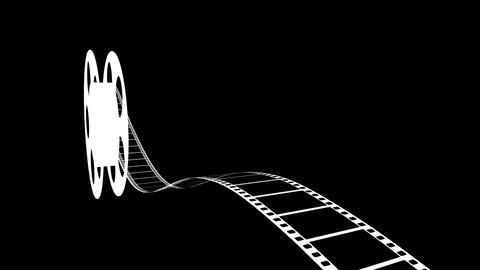 Film Strip A05m HD Stock Video Footage