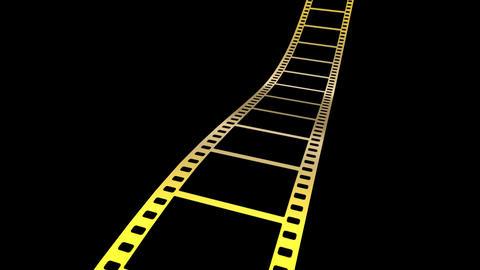 Film Strip A07m HD Stock Video Footage