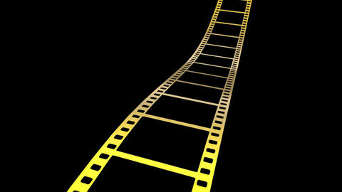Film Strip A07m HD Animation
