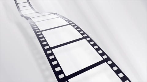Film Strip A08b Stock Video Footage