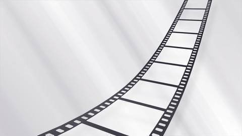 Film Strip A09b Stock Video Footage