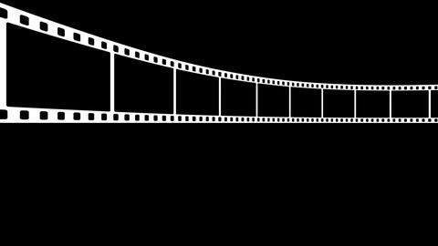 Film Strip D02m Stock Video Footage