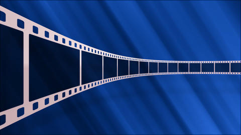 Film Strip D03a Stock Video Footage