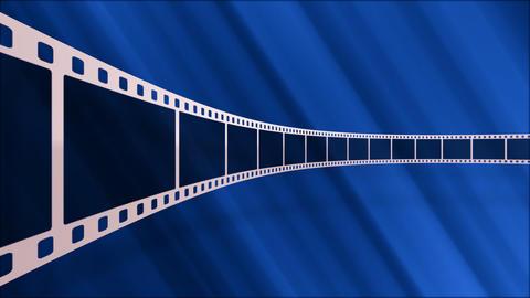 Film Strip D03a Stock Video Footage