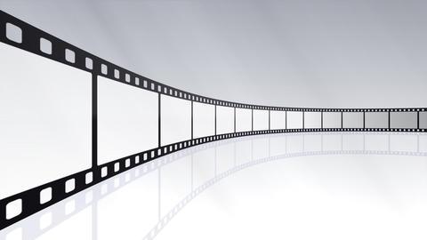 Film Strip D03c Stock Video Footage