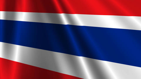 ThailandFlagLoop03 Animation