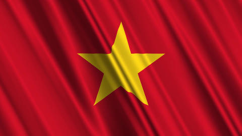 VietnamFlagLoop01 Animation