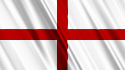 EnglandFlagLoop01 Animation