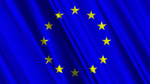 EUFlag01 Stock Video Footage