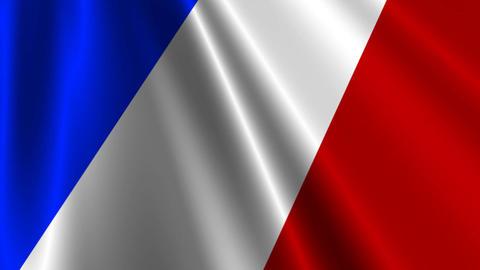 FranceFlag03 Animation
