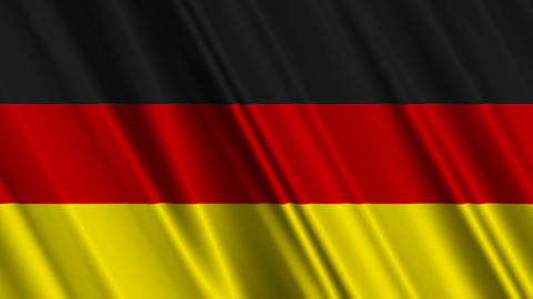 GermanFlag01 Stock Video Footage