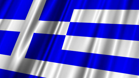GreeceFlag02 Animation