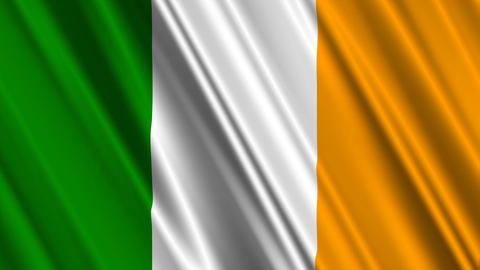 IrelandFlagLoop01 Animation