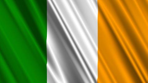 IrelandFlagLoop01 Animation