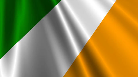 IrelandFlagLoop03 Animation