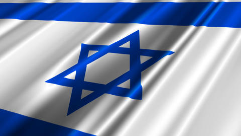 IsraelFlagLoop02 Animation