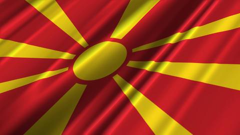 MacedoniaFlagLoop02 Animation