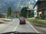 Timelapse Highspeed Country Road Drive Alps stock footage