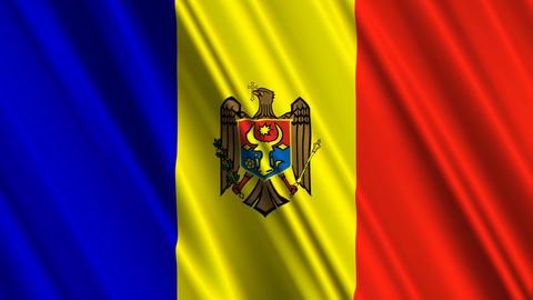 MoldovaFlagLoop01 Animation