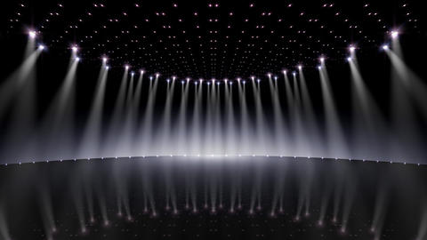 Stage Lighting 2 CfB1 Stock Video Footage