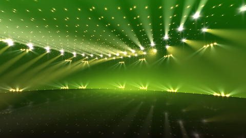 Stage Lighting 2 CnC2 Stock Video Footage