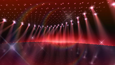 Stage Lighting 2 CnF1 Stock Video Footage