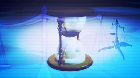 Time Justice Looping Background stock footage