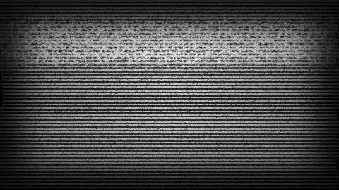 TV Static Noise HD Stock Video Footage