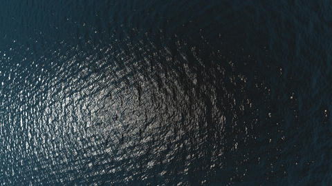 Aerial view of ocean waves - Nature - Travel - Backgrounds Footage