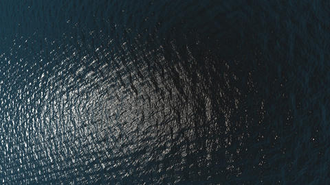 Aerial view of ocean waves - Nature - Travel - Backgrounds Stock Video Footage