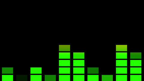 Audio equaliser animation Animation
