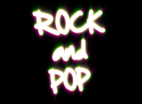 Rock Pop Stock Video Footage