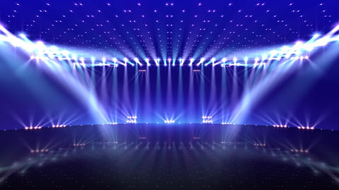 Stage Lighting 2 AfC1 Stock Video Footage