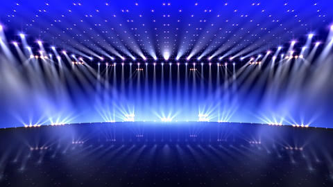 Stage Lighting 2 AfF0 CG動画
