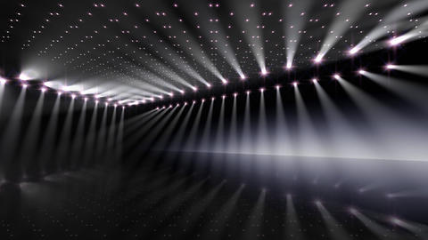 Stage Lighting 2 AnB1 Stock Video Footage
