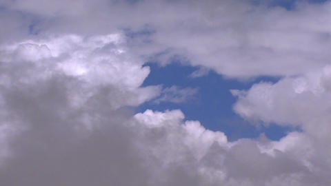 fly through clouds 1 Stock Video Footage