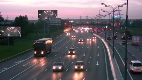 night road Stock Video Footage
