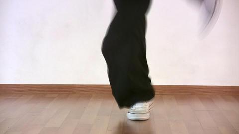 dancing legs Stock Video Footage