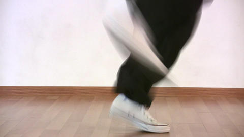 dancing legs Stock Video Footage