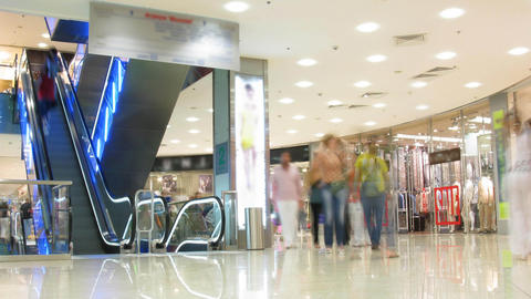 shop time lapse Stock Video Footage