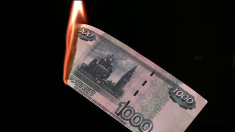 fire rubles Footage