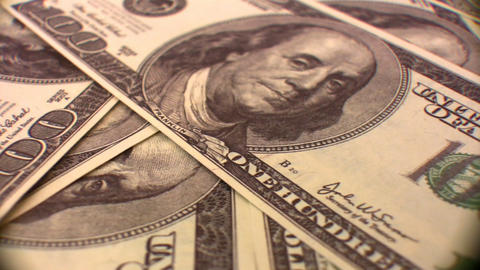 dollar background rotating Footage