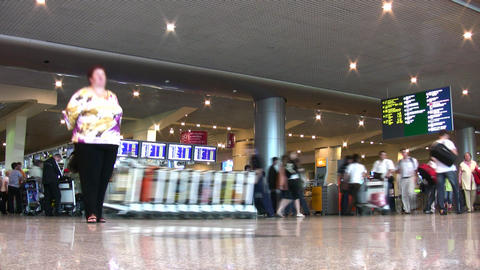 airport people Stock Video Footage